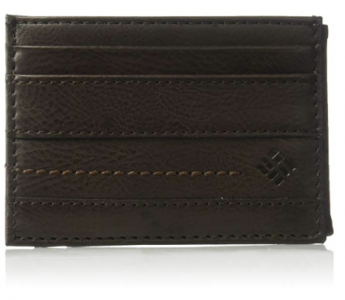 picture of Columbia Men's Rfid Security Blocking Slim Front Pocket Wallet