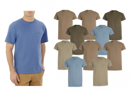picture of Fruit of The Loom Men's Short Sleeve Tees 10-Pack Sale