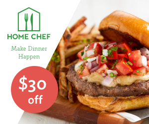 picture of $30 off Coupon at Home Chef