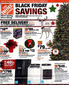 picture of Black Friday 2018: Home Depot Ad Scan