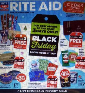 picture of Rite Aid Black Friday 2018 Ad Scans