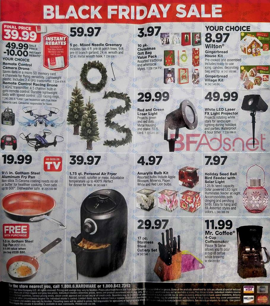 True Value Black Friday Ad