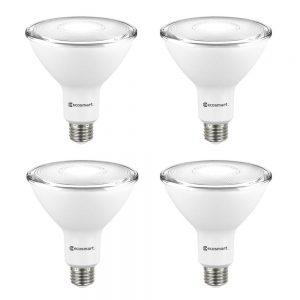 picture of EcoSmart 90Watt Equiv PAR38 Non-Dimmable Flood LED Light Bulb 4pk Sale