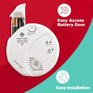 picture of First Alert SCO5CN Combination Smoke and Carbon Monoxide Detector