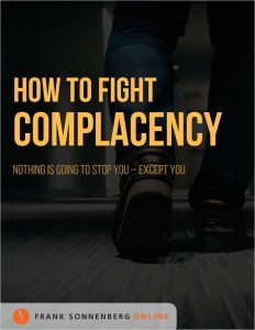 picture of Free eBook: How to Fight Complacency