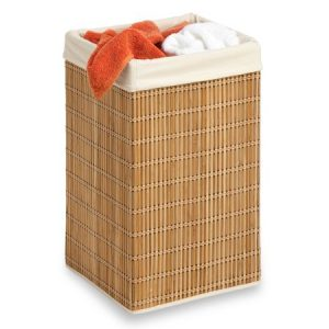 picture of Honey Can Do Bamboo Wicker Hamper Sale