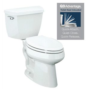 picture of KOHLER Highline Classic White WaterSense 2 Piece Toilet Sale
