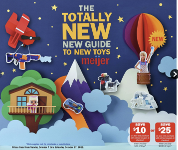 picture of Meijer Holiday Toy Guide
