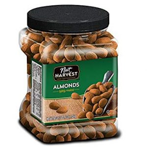 picture of Nut Harvest Lightly Roasted Almonds, 36 Ounce Jar Sale