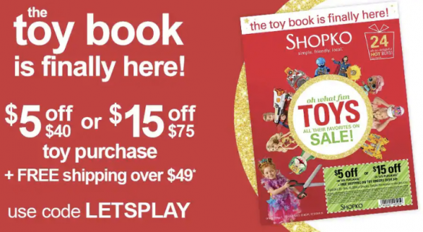 photograph regarding Shopko 20 Off Printable Coupon known as Shopko Toy Reserve - BuyVia