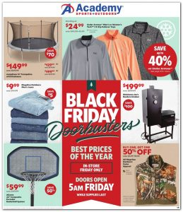picture of Black Friday 2018: Academy Sports Ad Scan