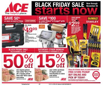 picture of Black Friday 2018: Ace Hardware Ad Scan