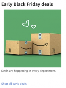 picture of Amazon Early Black Friday Sale - Preschool Toys, Arts Crafts, 4K TVs