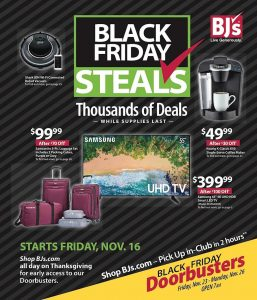 picture of Black Friday 2018: BJs Wholesale Ad Scan