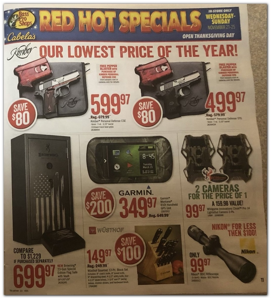 Bass Pro Shops Black Friday 2018 Ad