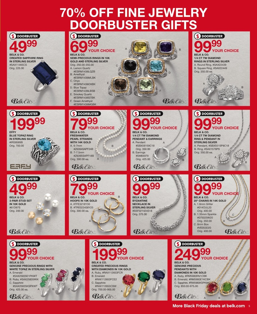 Belk Black Friday Ad
