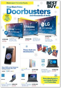 picture of Black Friday 2018: Best Buy Ad Scan