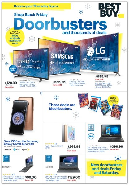 Black Friday 2018 Best Buy Ad Scan Buyvia