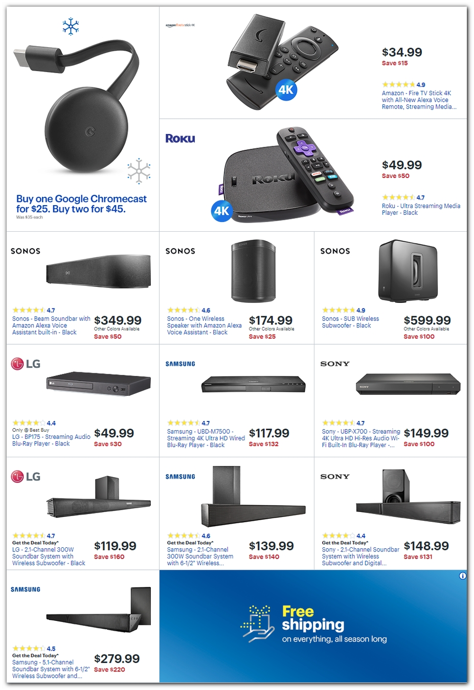 Best Buy Black Friday 2018 Ad