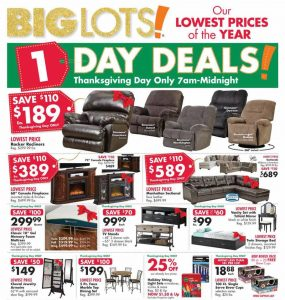 picture of Black Friday 2018: Big Lots Ad Scan