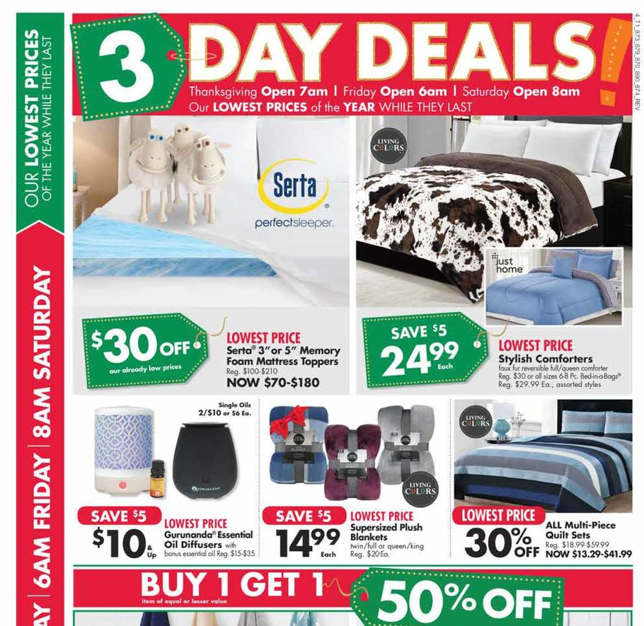 Big Lots Black Friday 2018 Ad