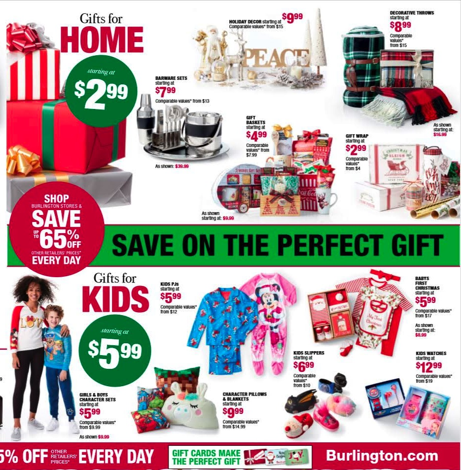 Burlington Black Friday 2018 Ad