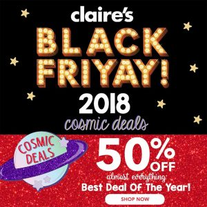 picture of Black Friday 2018: Claire's Ad Scan