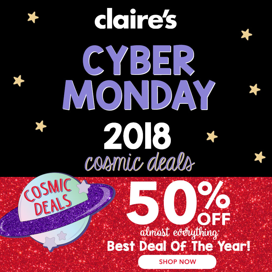Claires Beauty Black Friday 2018 Ad