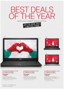 picture of Black Friday 2018: Dell Ad Scan
