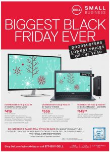 picture of Live: Dell Business Black Friday Sale 2018 - Chromebook 11 $129