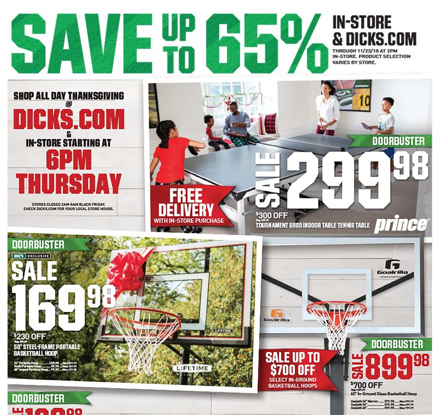Dicks Sporting Goods Black Friday 2018 Ad
