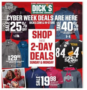 Yeti Cyber Monday Sale >> Cyber Monday 2018 Dick S Sporting Goods Ad Scan 2