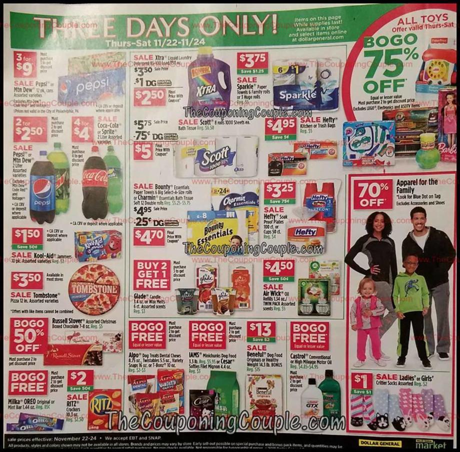 Dollar General Black Friday 2018 Ad