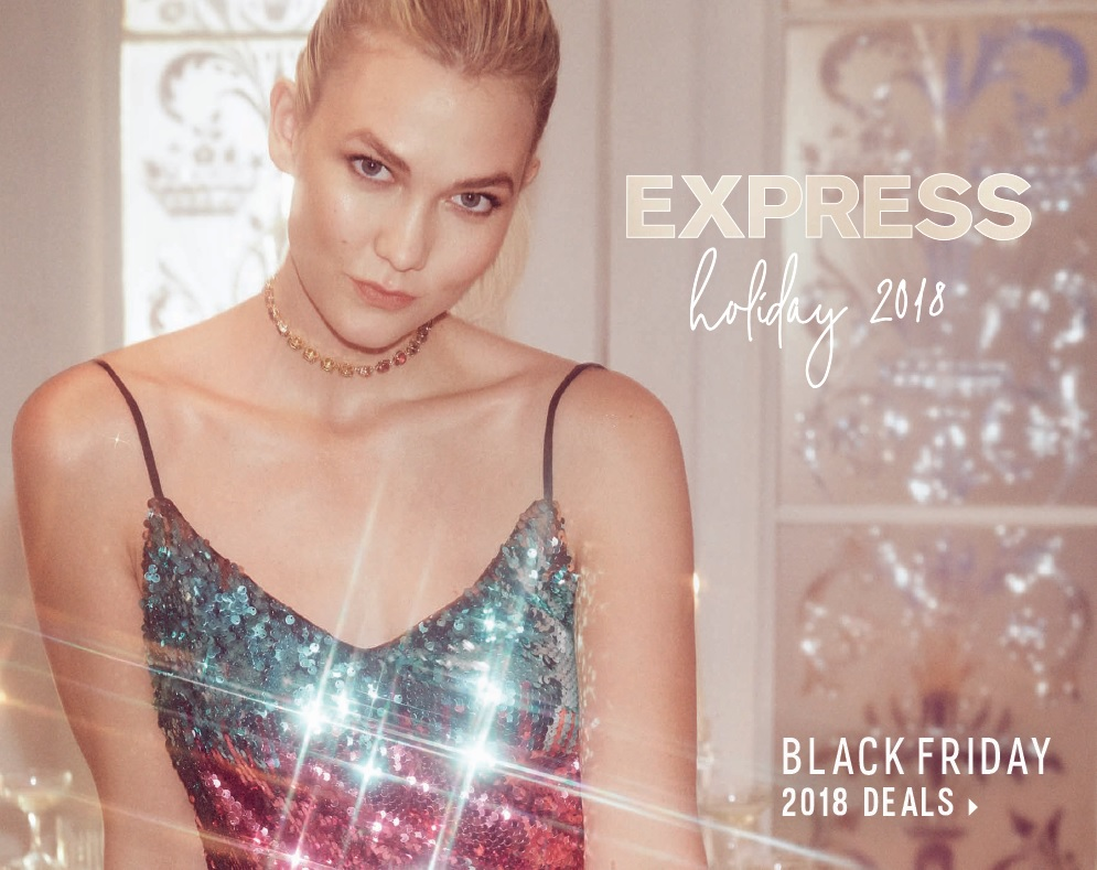 Express Black Friday 2018 Ad