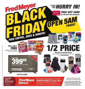 picture of Black Friday 2018: Fred Meyer Ad Scan