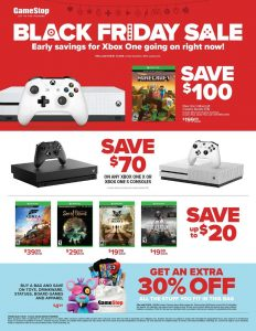 picture of Pre Black Friday 2018: Gamestop Ad Scan