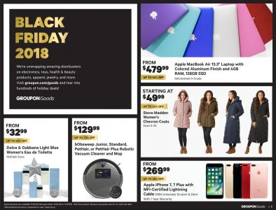 picture of Black Friday 2018: Groupon Ad Scan