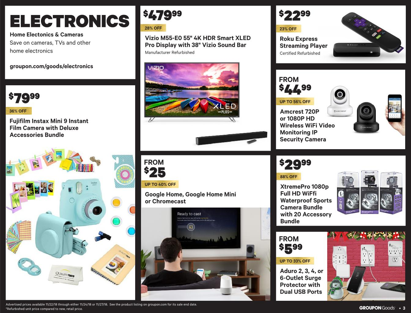 Groupon Black Friday 2018 Ad