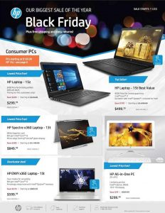 picture of Black Friday 2018: HP Ad Scan