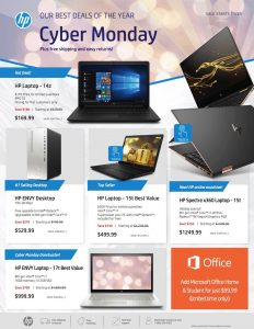 picture of Cyber Monday 2018: HP Ad Scan