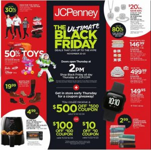 picture of Black Friday 2018: JCPenney Ad Scan