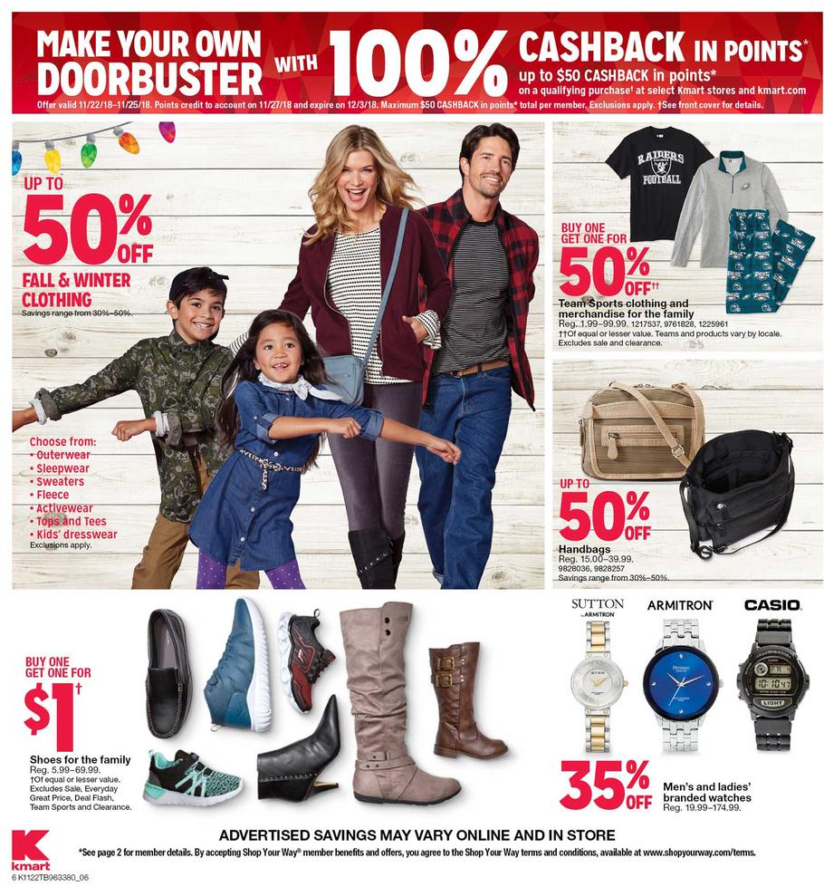 KMart Black Friday 2018 Ad