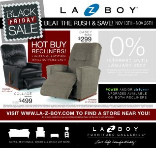 picture of Black Friday 2018: La-z-boy Ad Scan