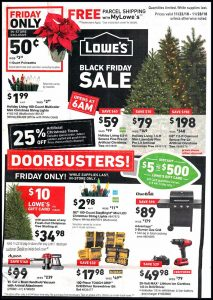picture of Black Friday 2018: Lowe's Ad Scan