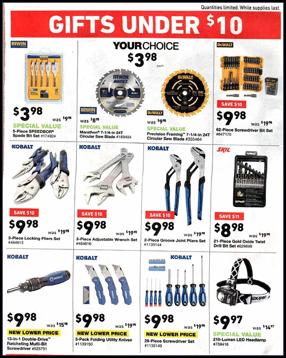 Lowes Black Friday 2018 Ad