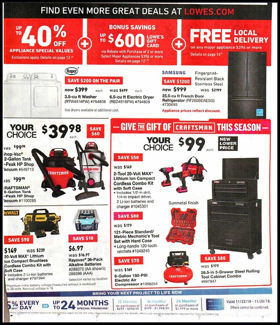 black friday 2018 lowe s ad scan buyvia. Black Bedroom Furniture Sets. Home Design Ideas