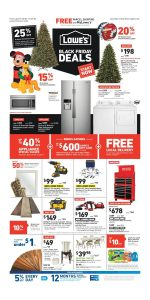 picture of Pre Black Friday 2018: Lowe's Ad Scan
