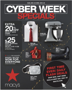 picture of Cyber Week 2018: Macy's Ad