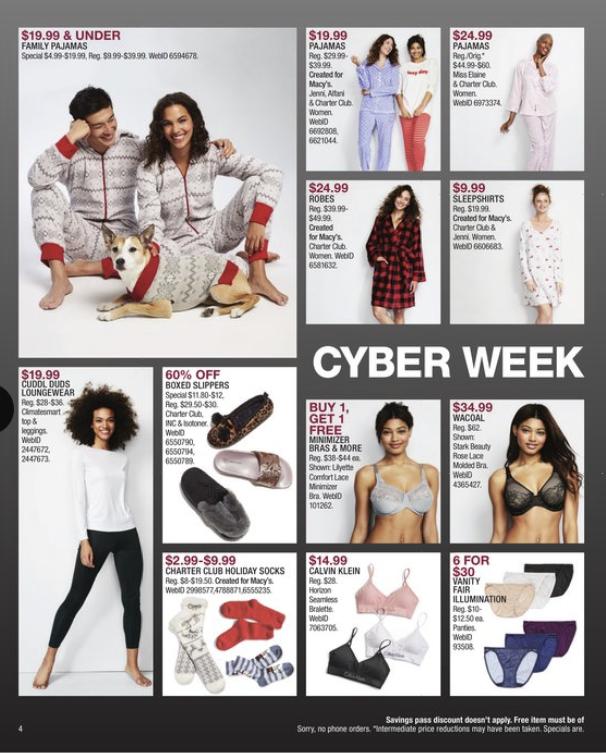 Macys Cyber Monday 2018 Ad