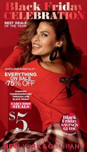 picture of Black Friday 2018: New York & Company Ad Scan